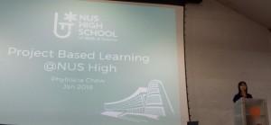 Gambar 7: Mrs. Phylliscia Lee, NUS High School of Math and Science, Singapore.